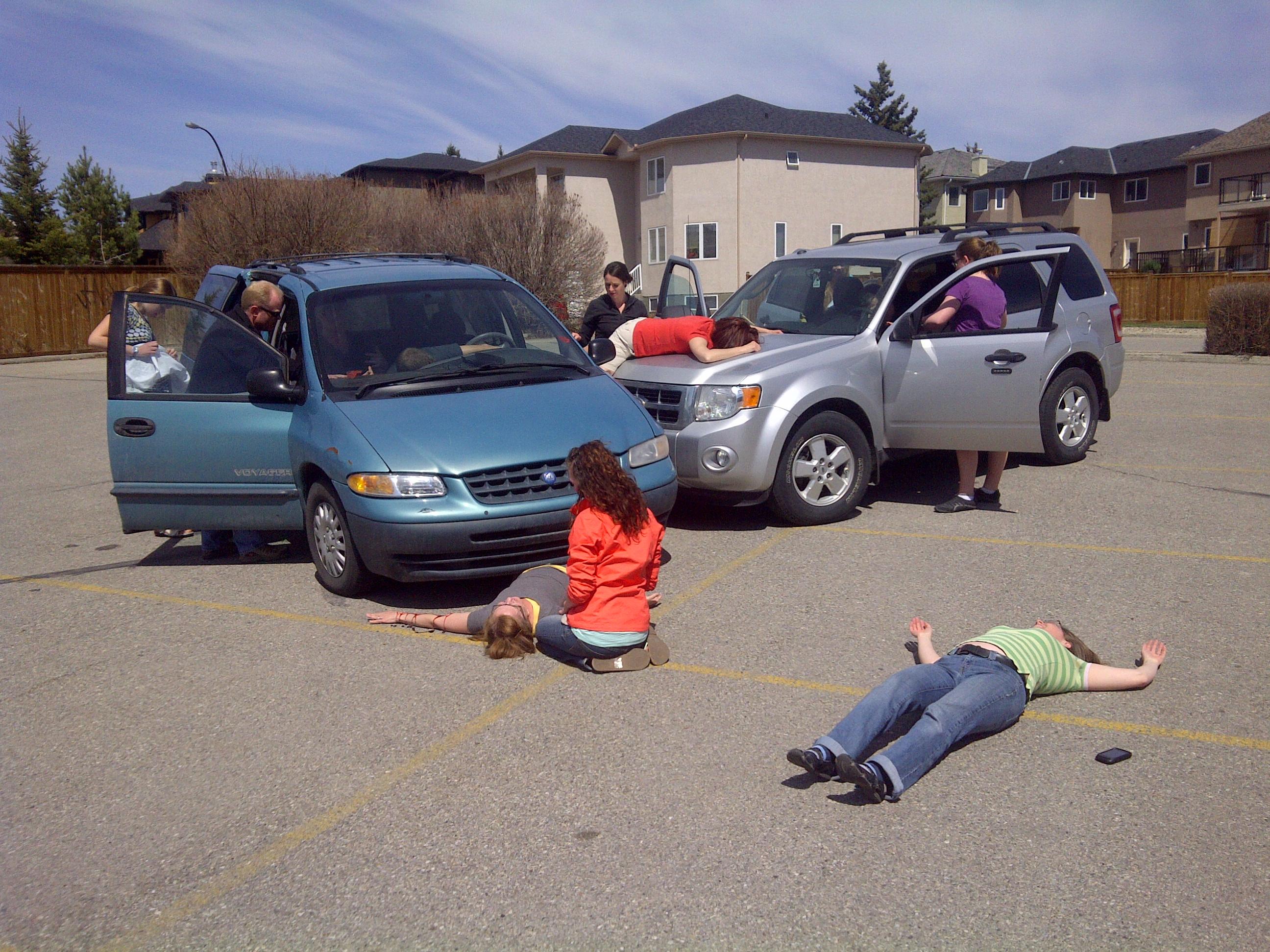 Car Accident Scenarios Who